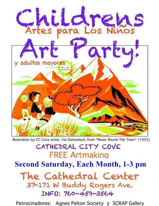 Cathedral City Cove Art Party for Children & Elders