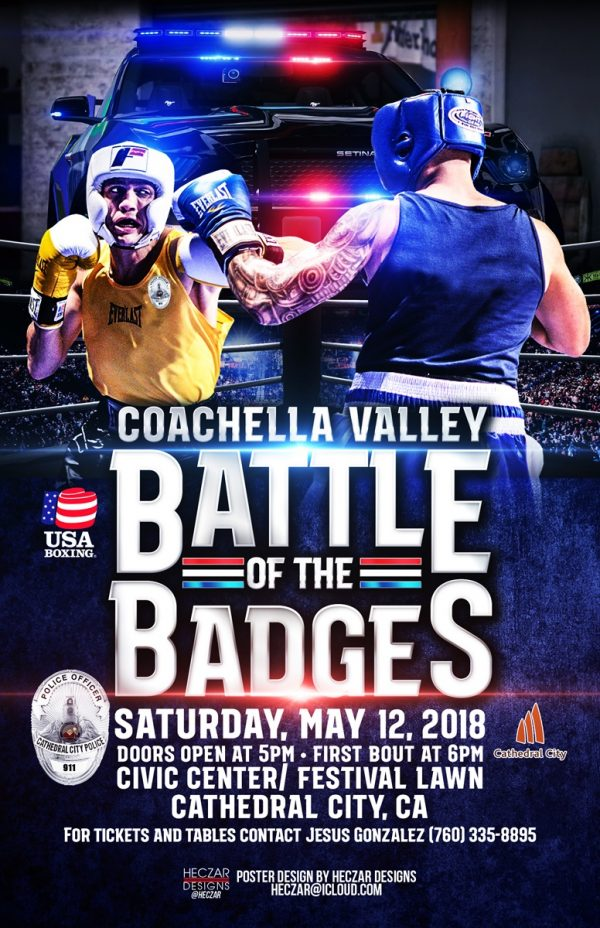 Battle of the Badges Boxing Event