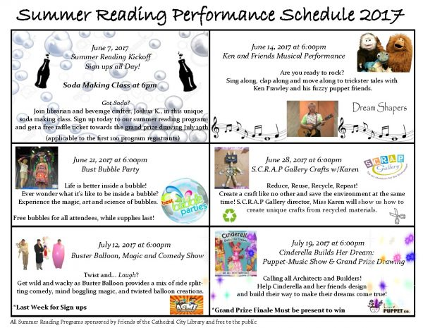 Summer Reading Program & Activities - Cathedral City Library