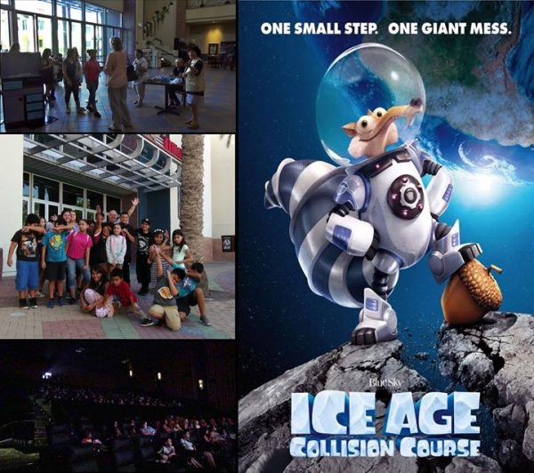 "Crowd of Kids Continue to Attend the Cathedral City's Free Summer Kids Film Series – This Week's Film is ""Ice Age: Collision Course"""