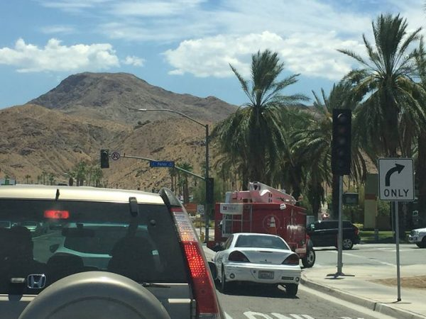 Flashing Traffic Signals at Perez Road and Date Palm Drive Will Continue through October