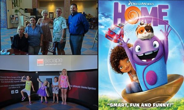 "Great Crowd of Kids Attend the Free Summer Kids Film Series – This Week's Film is Dreamworks' ""Home"""