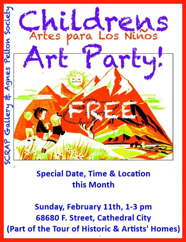 CHILDREN'S ART PARTY FOR CHILDREN AND ELDERS