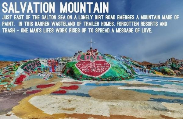 Salton Sea and Salvation Mountain Day Tour