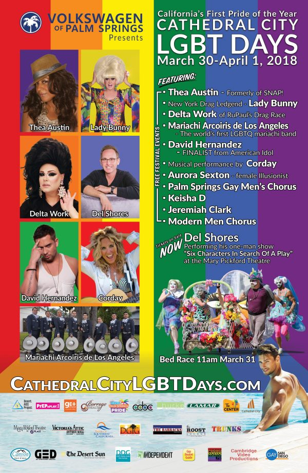 4th Annual Cathedral City LGBT Days