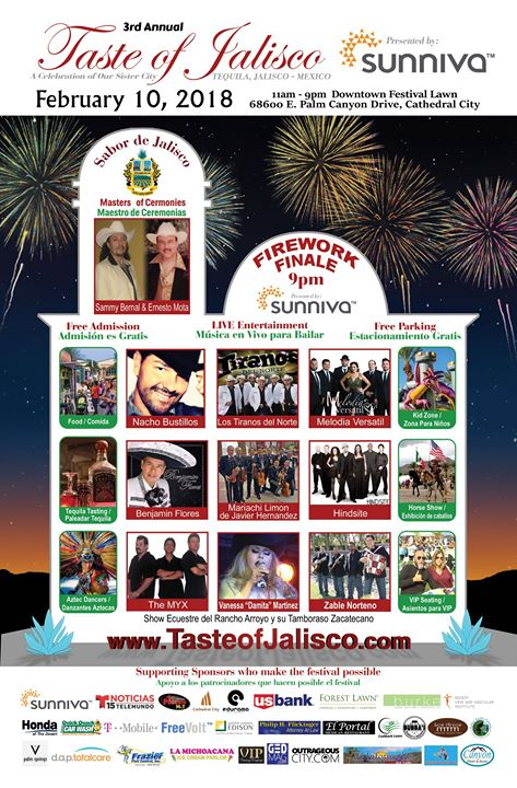3rd Annual Taste of Jalisco Festival Brings Big Taste