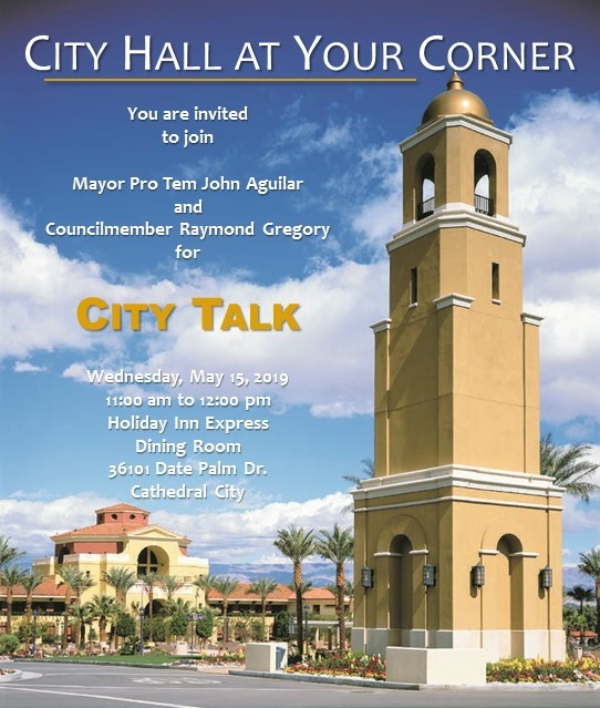 City Hall at Your Corner - April 2nd