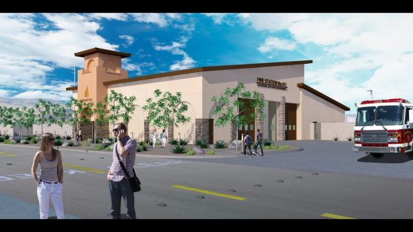 Design of the New Cathedral City Downtown Fire Station Revealed
