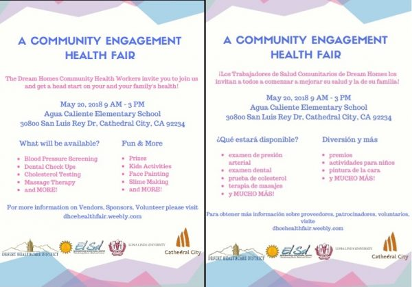 A Community Engagement Health Fair