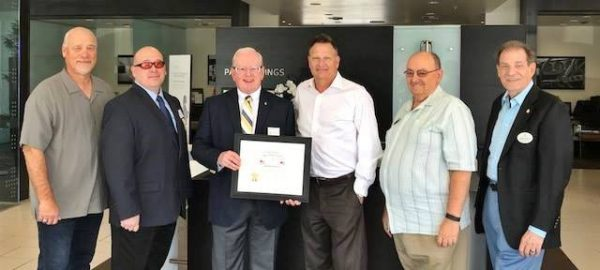 Palm Springs Ford Honored by the Sons' of the American Revolution