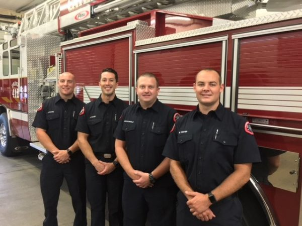Four New Firefighters/Paramedics Hired to Serve Cathedral City