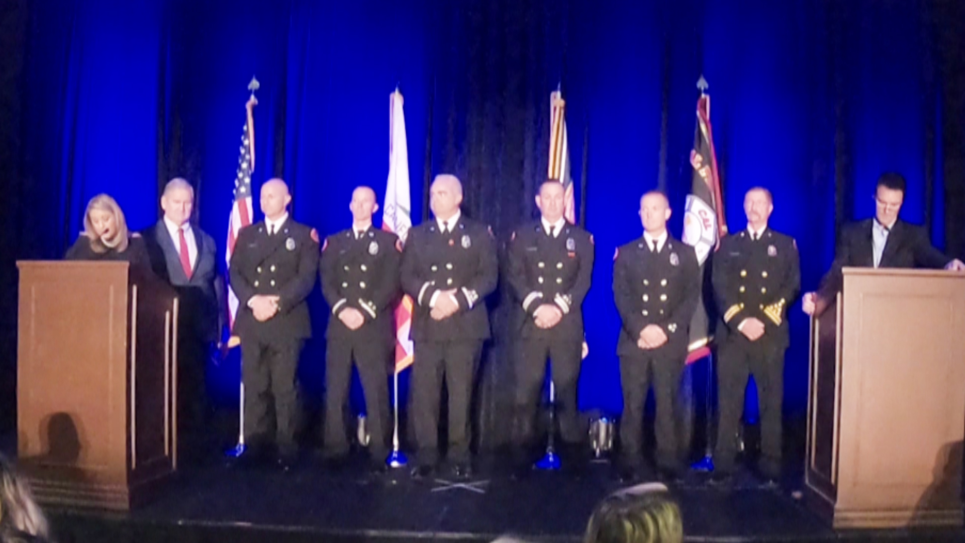 "Cathedral City Firefighters Honored as ""Firefighters of the Year"""