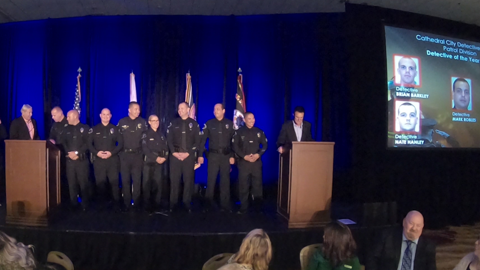 "Eight Cathedral City Police Officers Named ""Detectives of the Year"""