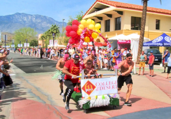 Cathedral City LGBT Days' Bed Race – Saturday at 11 am