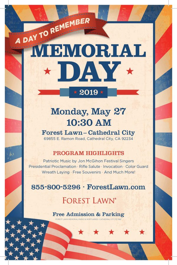 """A Day to Remember"" - Memorial Day at Forest Lawn"