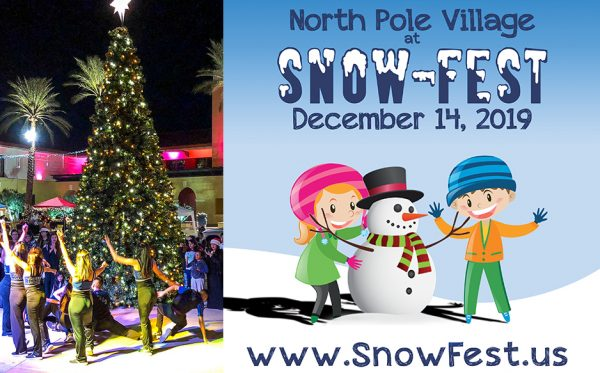 North Pole Village at Snow Fest