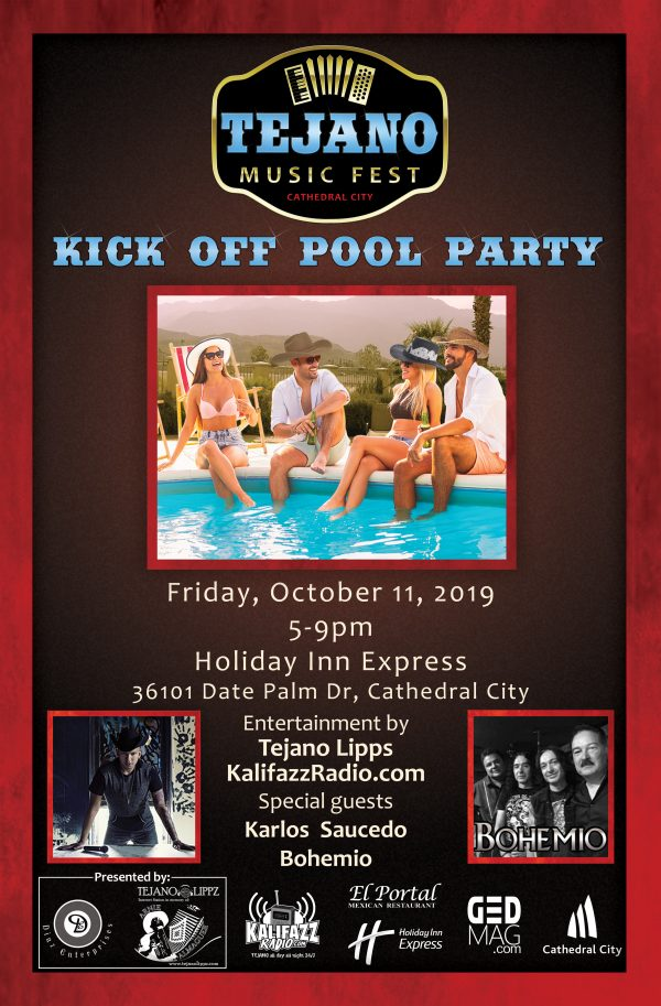 Tejano Music Fest Kick Off Pool Party