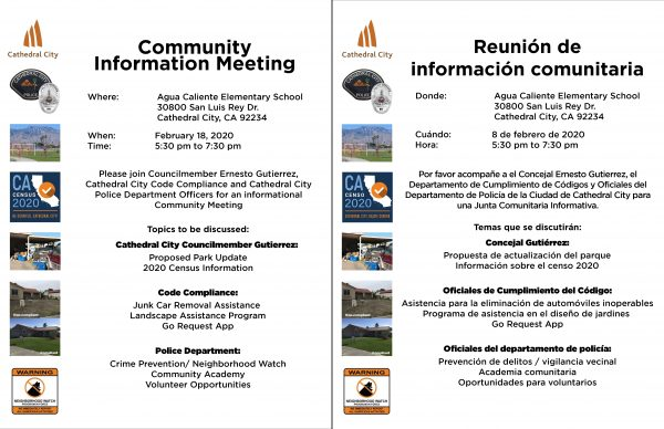 Dream Homes Community Informational Meeting