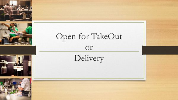 "Tired of Cooking? Support Cathedral City Restaurants With ""Take-Out,"" ""Delivery,"" or ""Gift Cards"""