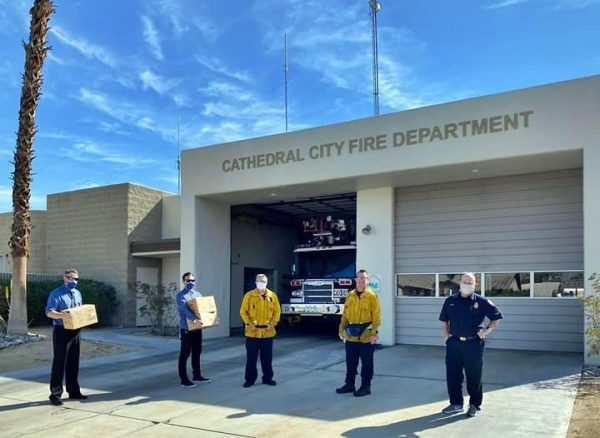 Agua Caliente Band of Cahuilla Indians and Several Businesses Donate to CC Fire Department