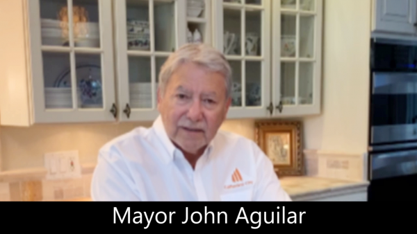 Mayor Aguilar Provides Information on How You Can Help Stop the Spread