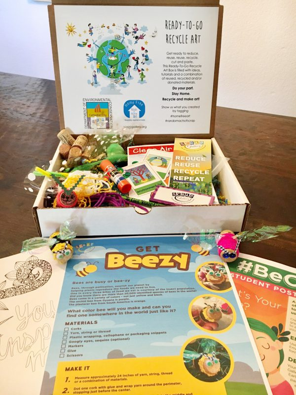 Ready-to-Go Recycle Art Boxes for Kids