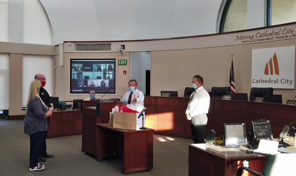 City Council Honors the Retirement of Fire Chief Paul Wilson