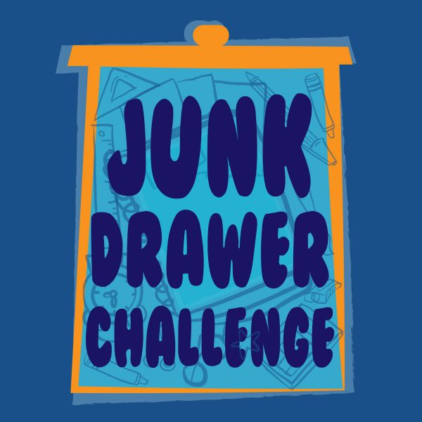 """Junk Drawer"" Art Challenge for Kids and Adults"