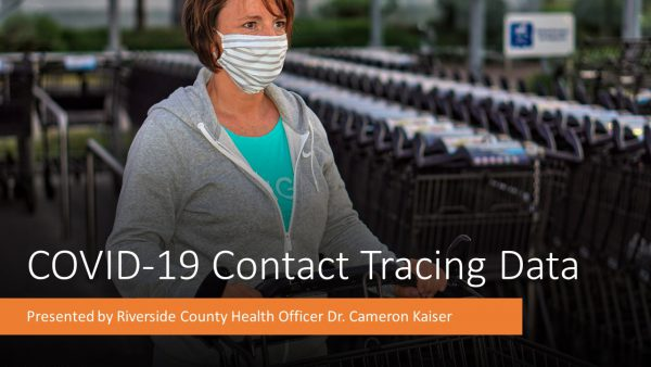 Contact Tracing Data Released for Coachella Valley and Cathedral City